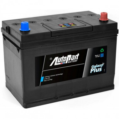 Аккумуляторная батарея AUTOPART AP850 GALAXY PLUS JAPANESE 100Ah 850A (R+) 303x175x227 mm