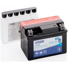 Аккумуляторная батарея EXIDE ETX4L-BS Bike Maintenance Free 12V 3Ah 115x70x85