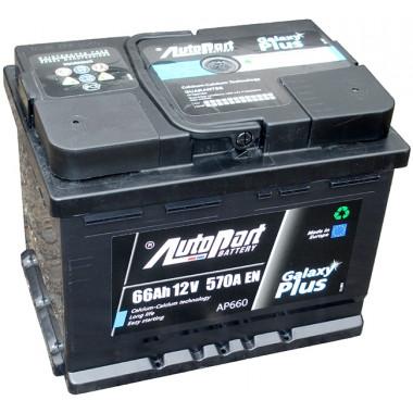 Аккумуляторная батарея AUTOPART PLUS, 66AH, обратная полярность