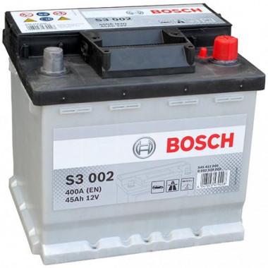 Аккумуляторная батарея BOSCH 19.5/17.9 евро 45Ah 400A 207/175/190
