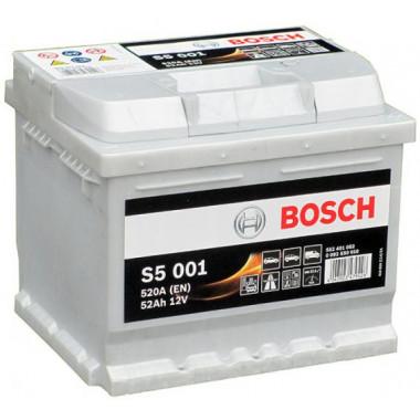 Аккумуляторная батарея BOSCH 19.5/17.9 евро 52Ah 520A 207/175/175