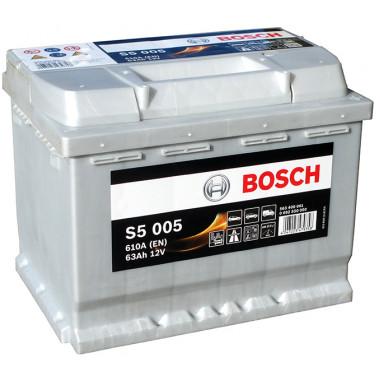 Аккумуляторная батарея BOSCH 19.5/17.9 евро 63Ah 610A 242/175/190