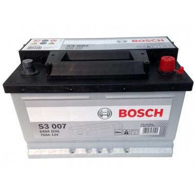Аккумуляторная батарея BOSCH 19.5/17.9 евро 70Ah 640A 278/175/175