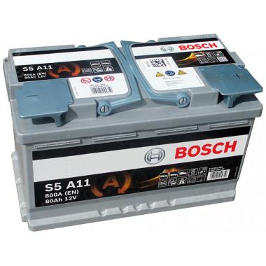 Аккумуляторная батарея BOSCH 19.5/17.9 евро 80Ah 800A 315/175/190 AGM