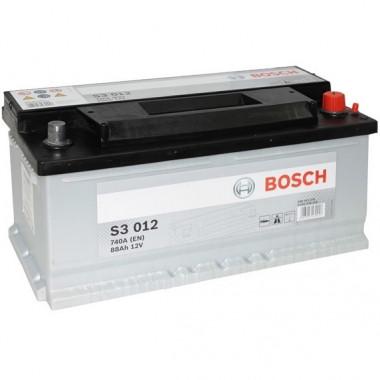 Аккумуляторная батарея BOSCH 19.5/17.9 евро 88Ah 740A 353/175/175