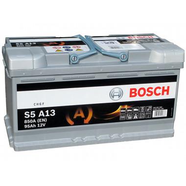 Аккумуляторная батарея BOSCH 19.5/17.9 евро 95Ah 850A 353/175/190 AGM