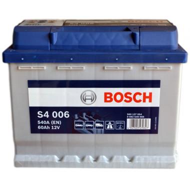 Аккумуляторная батарея BOSCH 19.5/17.9 рус 60Ah 540A 242/175/190