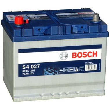 Аккумуляторная батарея BOSCH 19.5/17.9 рус 70Ah 630A 261/175/220