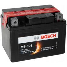 Аккумуляторная батарея BOSCH евро 3Ah 30A 114/71/86 YT4L-BS moto