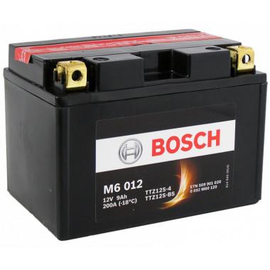 Аккумуляторная батарея BOSCH евро 9Ah 200A 150/87/110 YTZ12S-BS moto