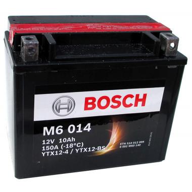 Аккумуляторная батарея BOSCH рус 10Ah 90A 152/88/131 YTX12-BS moto