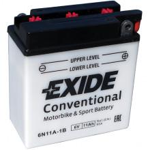 Аккумуляторная батарея EXIDE 11Ah 95A 122/62/131 moto