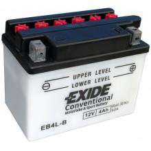 Аккумуляторная батарея EXIDE евро 4Ah 50A 121/71/93 moto
