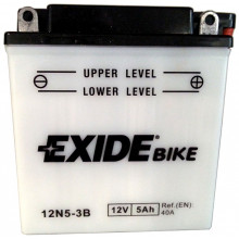 Аккумуляторная батарея EXIDE евро 5Ah 40A 121/61/131 moto