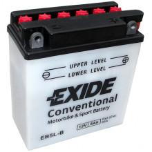 Аккумуляторная батарея EXIDE евро 5Ah 60A 121/61/131 moto
