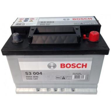 Аккумуляторная батарея BOSCH 0092S30041 BOSCH S3 12V 53AH 500A ETN 0(R+) B13 242x175x175mm 13.27kg