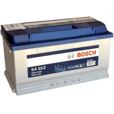 Аккумуляторная батарея BOSCH 0092S40130 BOSCH S4 SILVER 12V 95AH 800A ETN 0(R+) B13 353x175x190mm 21.32kg