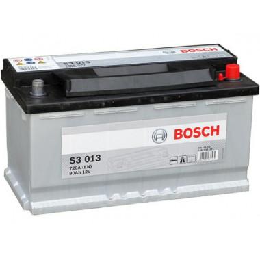 Аккумуляторная батарея BOSCH 0092S30130 BOSCH S3 12V 90AH 720A ETN 0(R+) B13 353x175x190mm 20.78kg