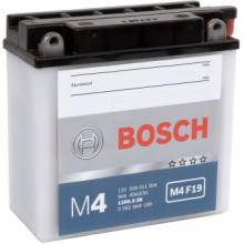 Аккумуляторная батарея BOSCH 0092M4F190 для мототехники BOSCH MOBA FP M4F 12V 6AH 40A (12N5.5-3B) 136x61x131mm 2.39kg