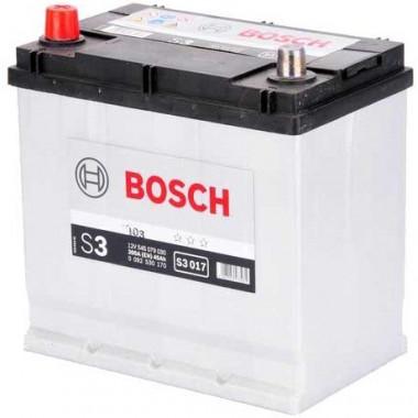 Аккумуляторная батарея BOSCH 0092S30170 BOSCH S3 12V 45AH 300A ETN 1(L+) B01 219x135x225mm 11.32kg
