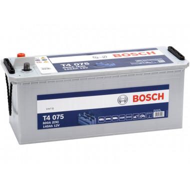 Аккумуляторная батарея BOSCH 0092T40750 BOSCH T4 12V 140AH 800A ETN 3 B00 513x189x223mm 35.76kg