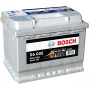 Аккумуляторная батарея BOSCH 0092S50050 BOSCH S5 SILVER PLUS 12V 63AH 610A ETN 0(R+) B13 242x175x190mm 14.78kg