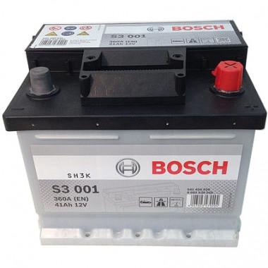 Аккумуляторная батарея BOSCH 0092S30010 BOSCH S3 12V 41AH 360A ETN 0(R+) B13 207x175x175mm 10.68kg