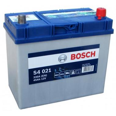 Аккумуляторная батарея BOSCH 0092S40210 BOSCH S4 SILVER 12V 45AH 330A ETN 0(R+) B00 238x129x227mm 11.68kg