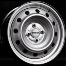 Диск колеса стальной R14 (R14x5.5/4x108/ET44 CD63.3) (TREBL)