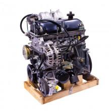 Двигатель ВАЗ 21214 (1,7л 8 клапанов инжектор 81л.с.,ЕВРО-3) под ГУР, тросовый со сцеплением в сб.