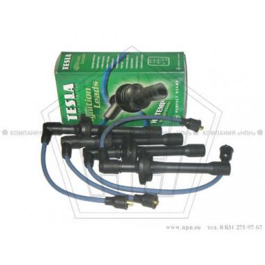 Провода в/вольтные к-т 406 силикон с наконечниками (T-696-H)