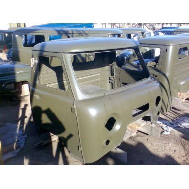Кабина УАЗ-3303 в мет., окраш. (под инжектор)