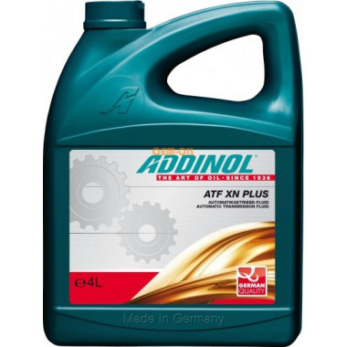 Синтетическое масло для АКПП ADDINOL ATF XN Plus (4L) Dexron II / II D / II E / III G / III H / VI