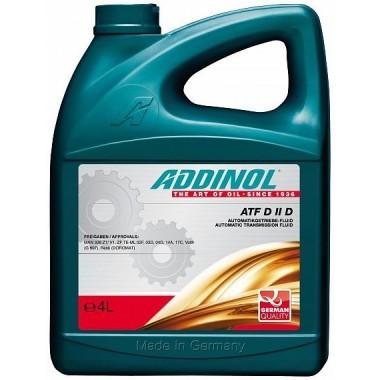 Трансмиссионная жидкость ADDINOL ATF DIID для АКПП и гидросистем (4L) Dexron II D