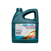 Масло моторное ADDINOL SuperLight 0540 5W40 синтетика ( 5L) API SN/CF