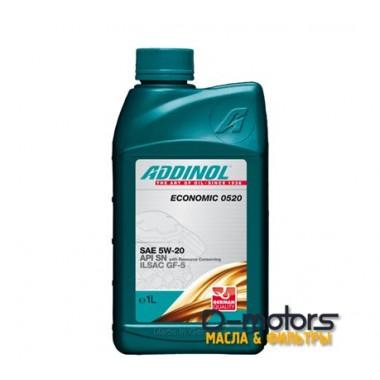 Масло моторное ADDINOL Economic 0520 5W20 синтетика (1L) API SN