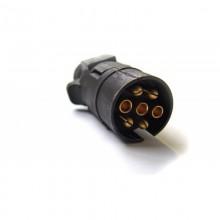 Вилка электроразъема ПС-300Б 7-контакт.(пластик)